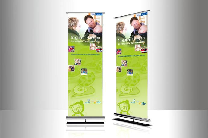 Roll-up Kindertagespflege